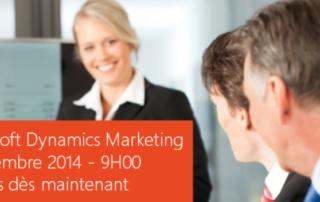 Atelier Microsoft Dynamics Marketing