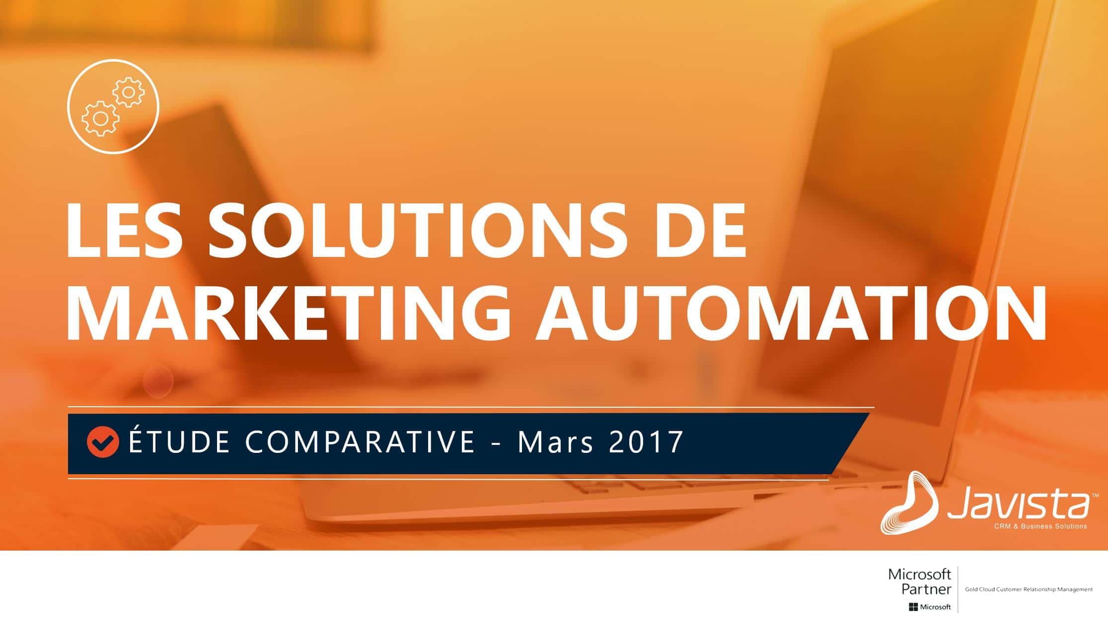 Solutions de marketing automation
