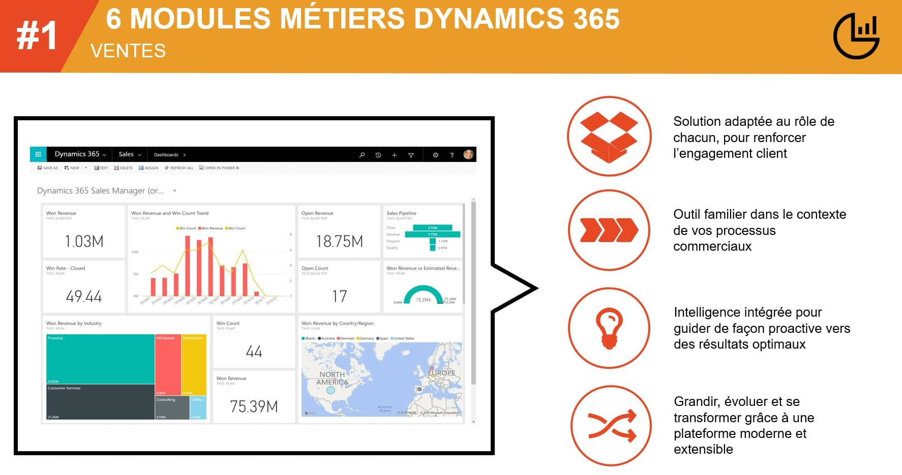 Dynamics 365 brique ventes