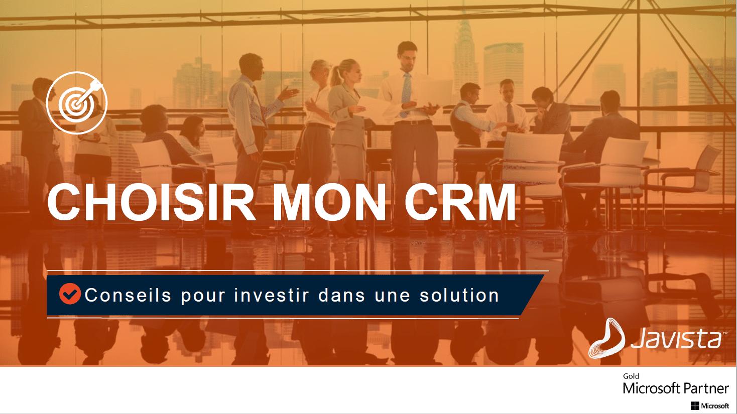 Choisir mon CRM - Guide