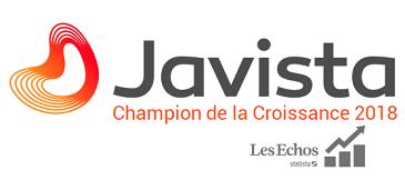 Banniere Javista - les echos 2018