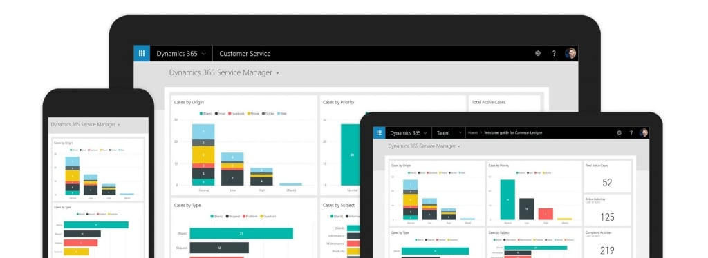 customer service dynamics 365