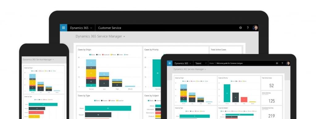 Service client Dynamics 365
