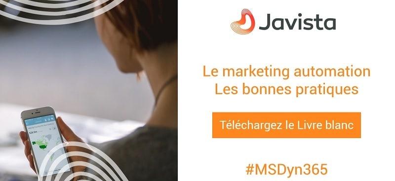 Téléchargement livre blanc Marketing bonnes pratiques - Javista
