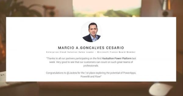 Témoignage gagnant hackathon 2019