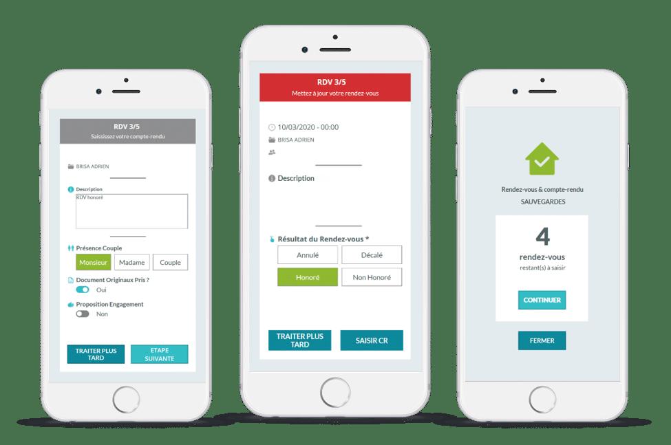 app comercial itinérant : power cr